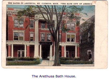 The Arethusa Bath House