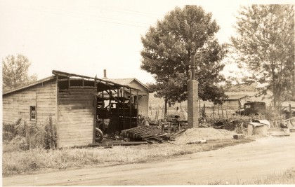 Hendrickx Prosper Iowa VS 3 gebouwen na de brand