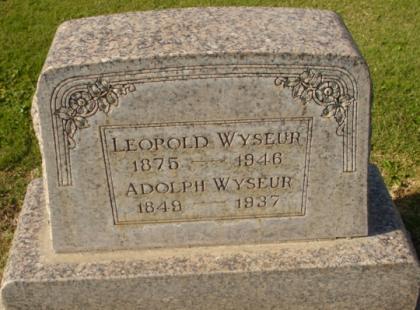 1937 overlijden Wyseur Adolph 1946 Wyseur LeopoldSchermafdruk 2016-04-13 16.20.43