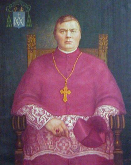 bisschop Aegidius Junger kleurfoto